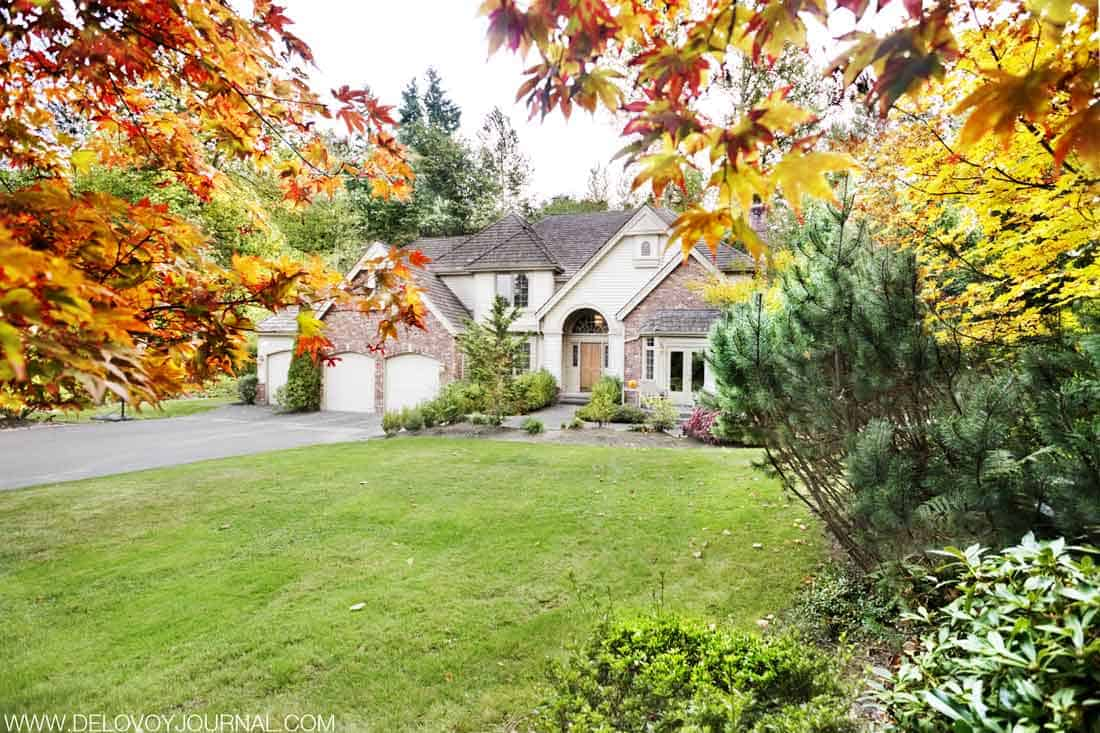 Покупаем дом осенью