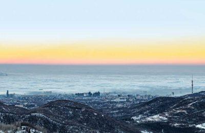 Путешествие в зимнюю Алма-Ату