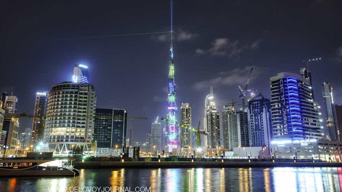 Бурдж-Халифа Дубайская башня