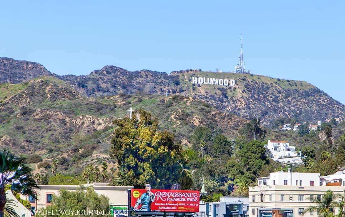 Вывеска Hollywood