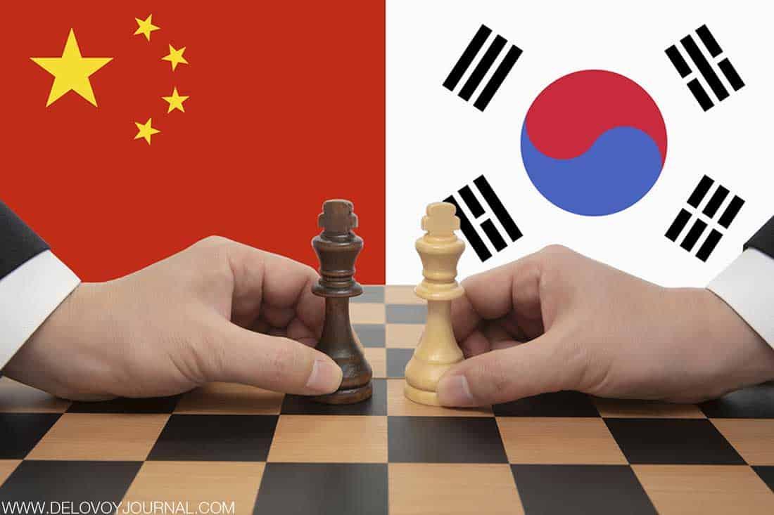 Отток южнокорейского бизнеса из Китая