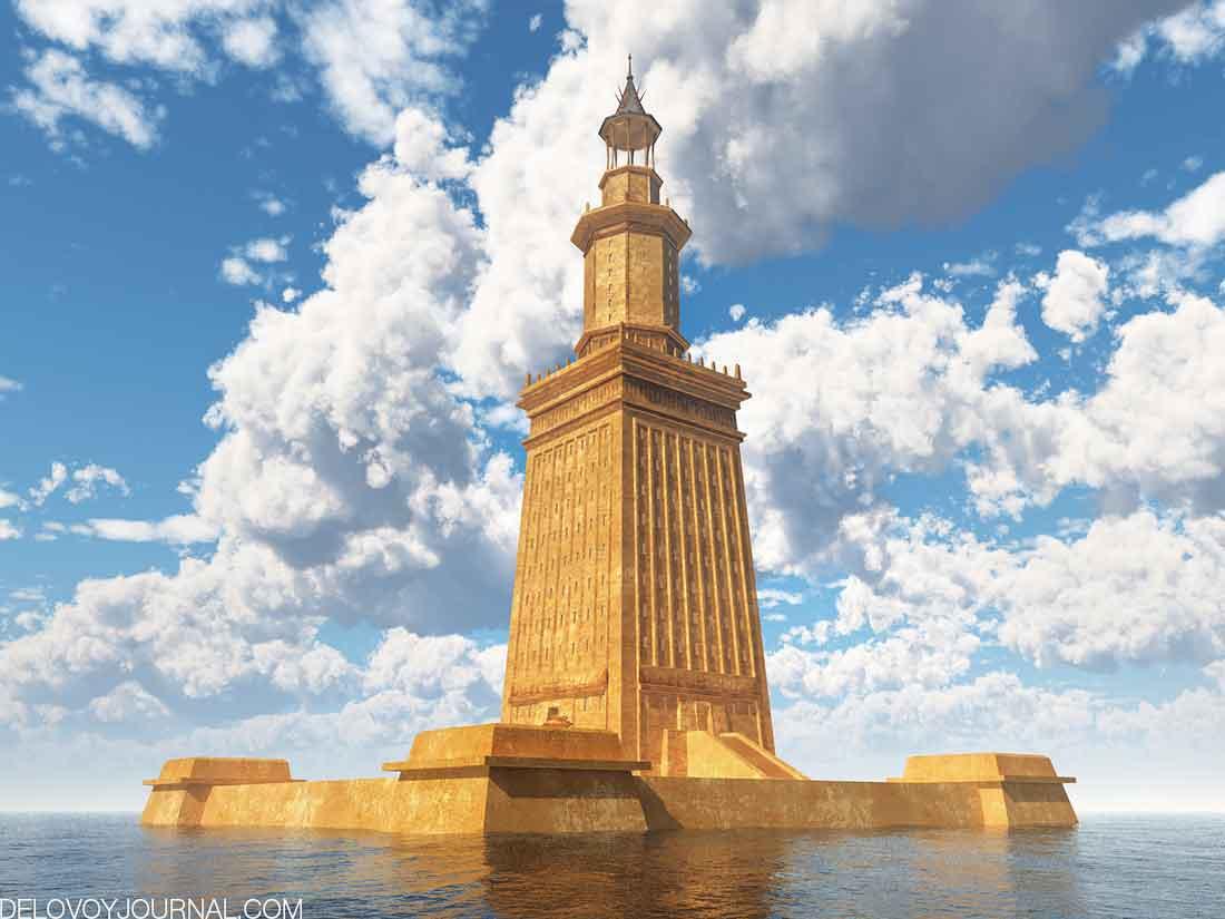 Александрийский маяк, Египет