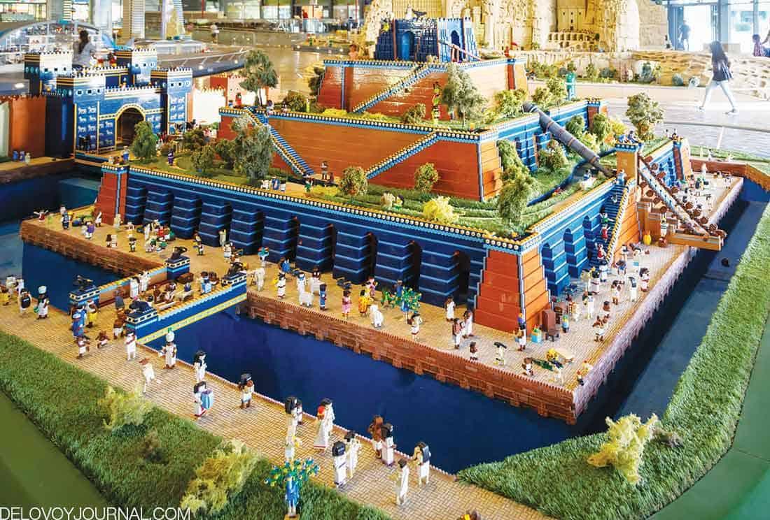Висячие сады Вавилона, современный Ирак
