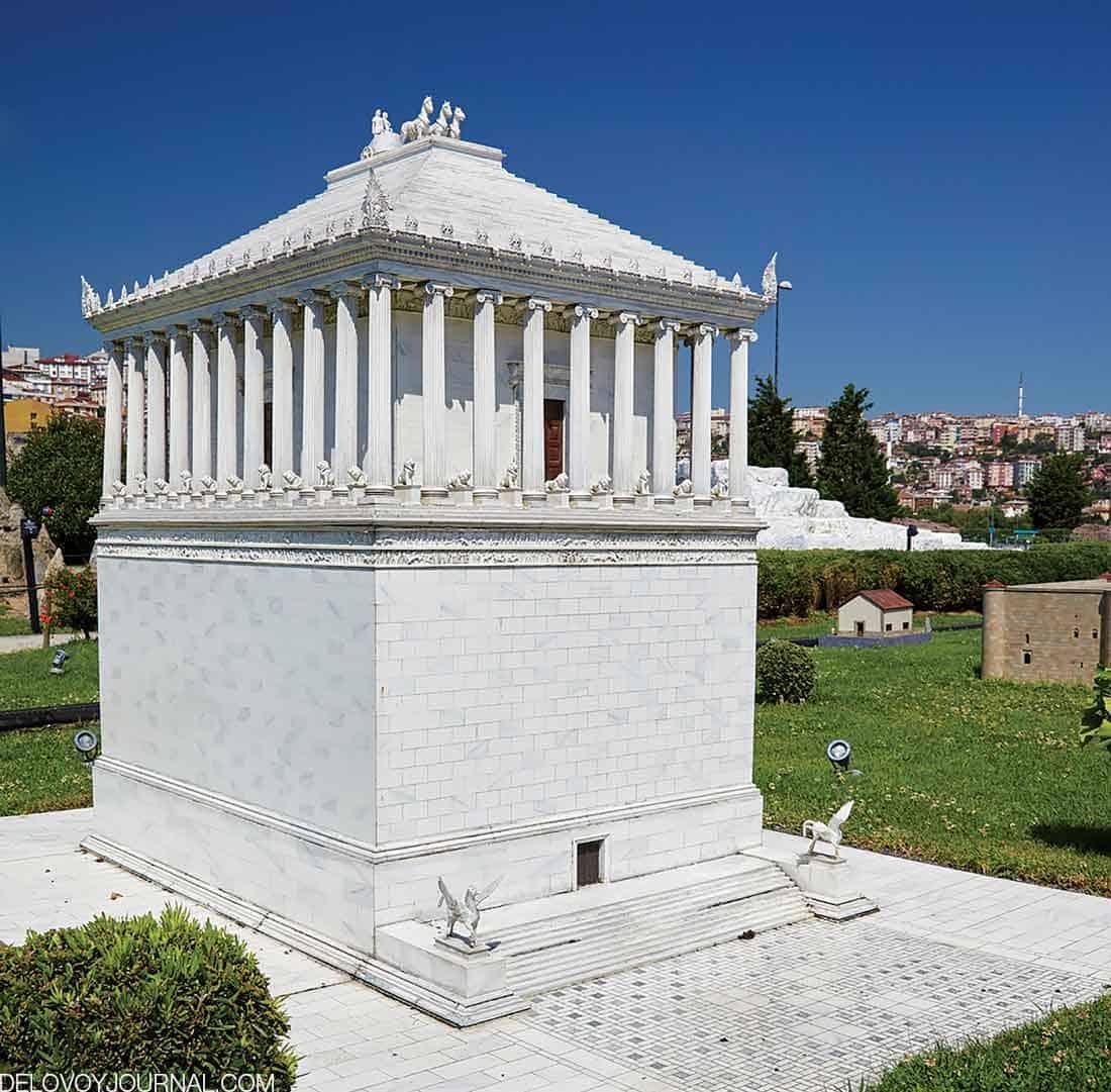 Мавзолей Галикарнаса, современная Турция