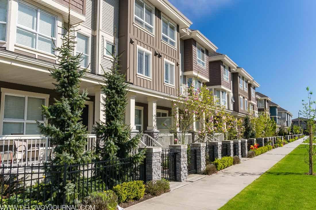Продажи новых домов в США май 2019