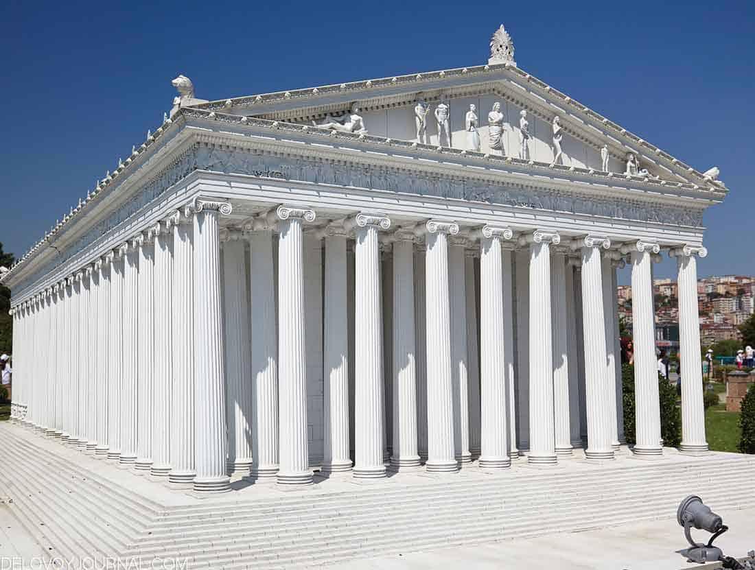 Храм Артемиды в Эфесе, Малая Азия, современная Турция