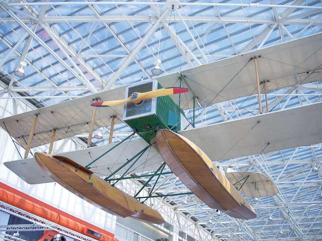 Replica of the B&W Seaplane