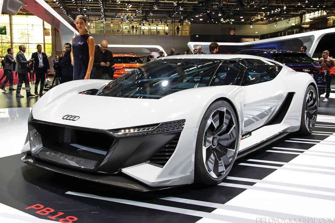 Концепт Audi PB18 e-tron