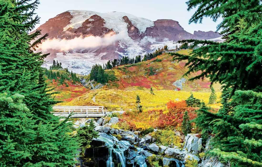 Вулкан Рейнир в США