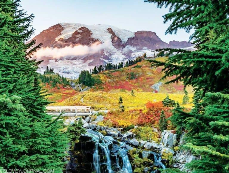 Осенние прогулки пешком по северо-западу Америки