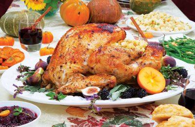 Благодарный праздничный стол