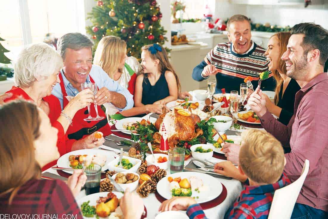 Празднование Дня Благодарения