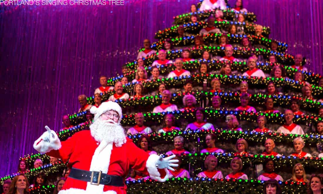 Portland's Singing Christmas Tree