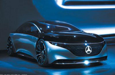 Деловой концепт Mercedes-Benz Vision EQS