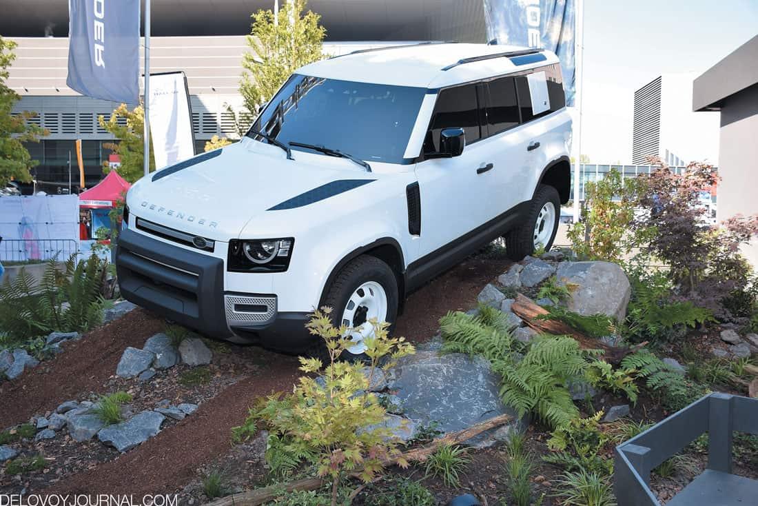 Land Rover Defender нового десятилетия