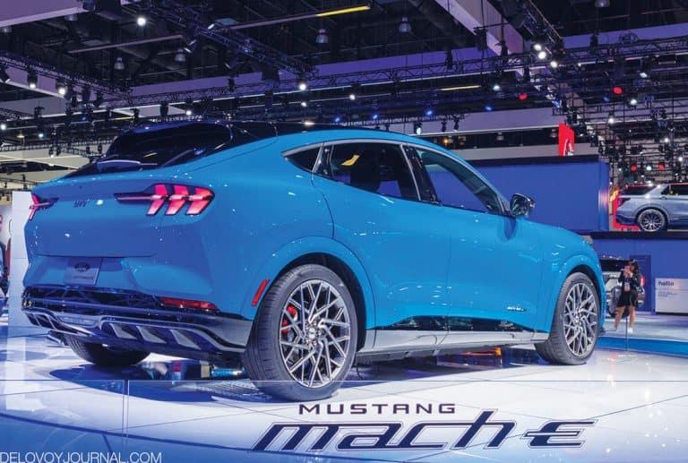 Ford Mustang Mach-E — без ручек, но с душой