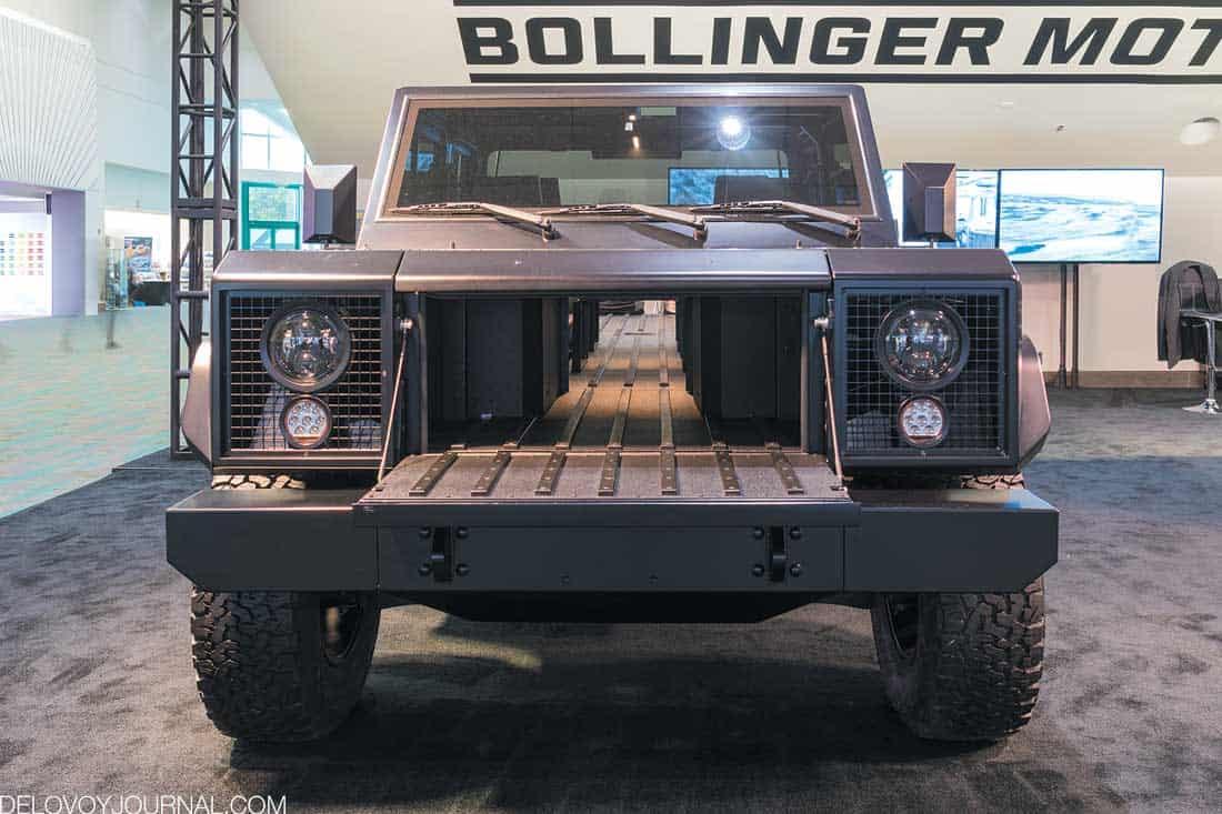 Багажный отсек Bollinger