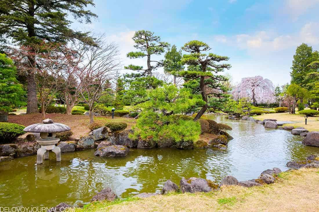 Камни в японском саду