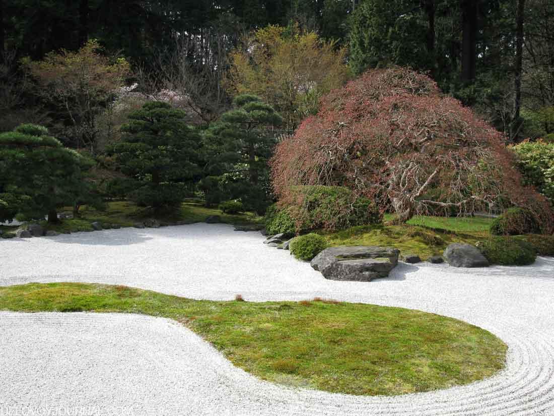 Японский каменный сад