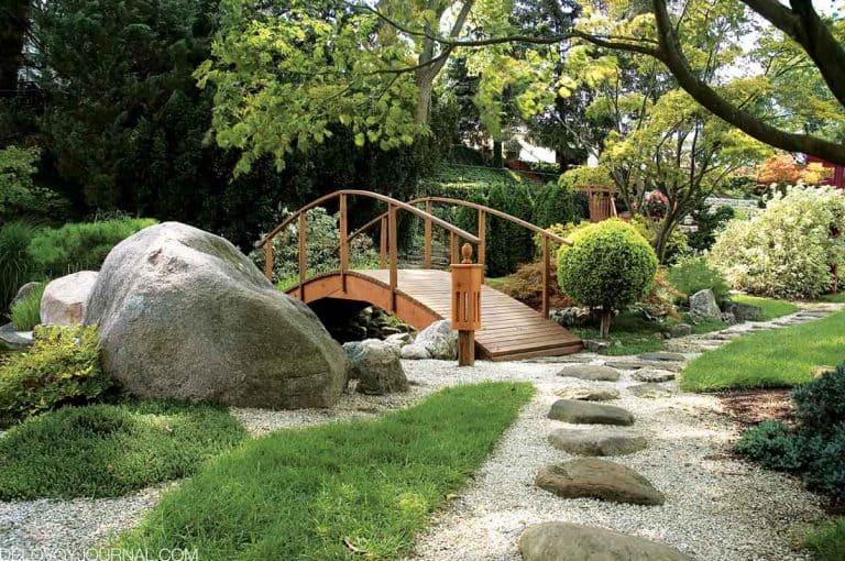 Японский сад — спокойствие и умиротворенность