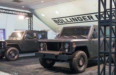 Bollinger B1 и B2 – первые модульные электротраки