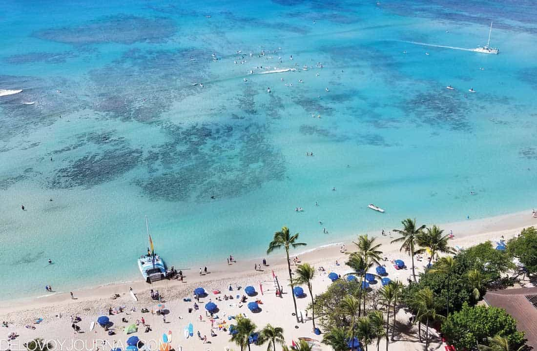 Пляж Вайкики, Гавайи