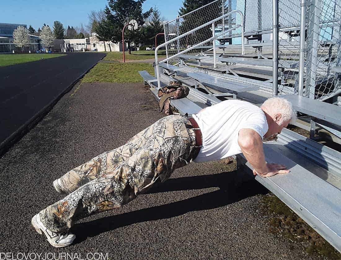 Спорт в любом возрасте