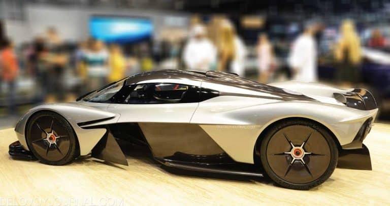 Концепт Aston Martin Valkirie