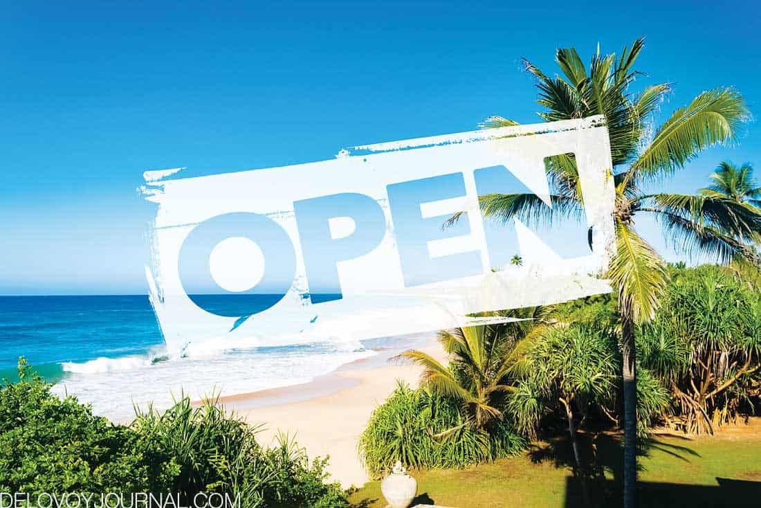 Туризм открыт