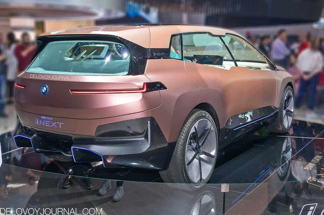 BMW Vision iNext кузов