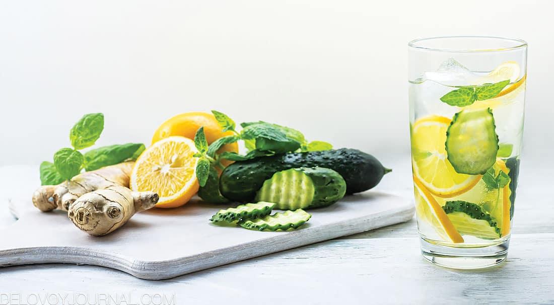 Прохладительный напиток