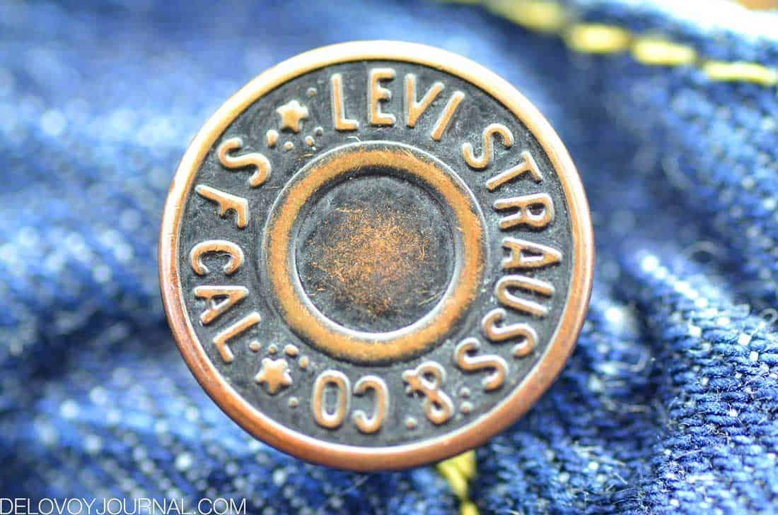 Пуговица Levi Strauss