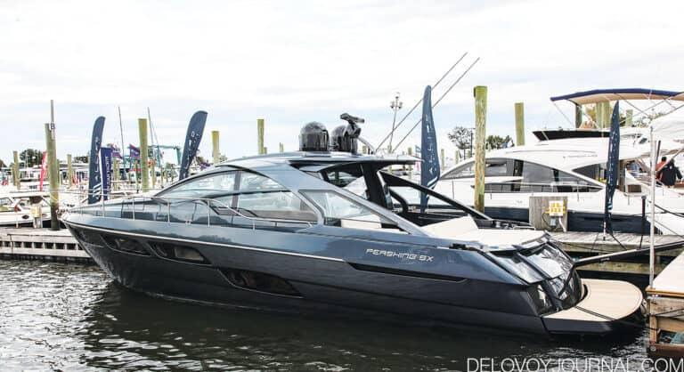 Моторная яхта Pershing 5X — для любителей морского отдыха