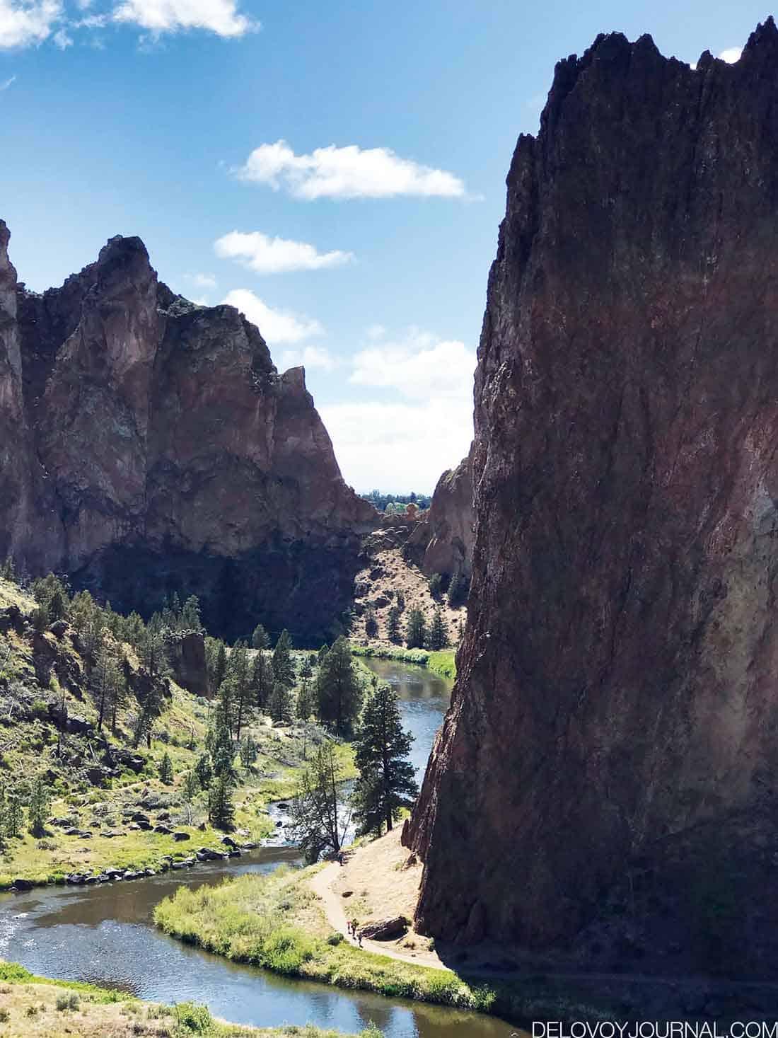 Природа штата Орегон США