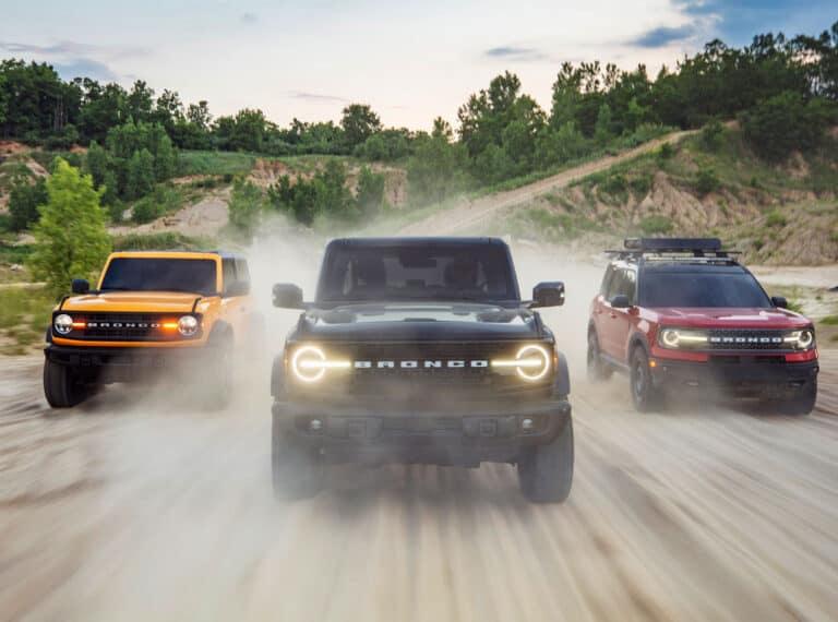 Реальный внедорожник Ford Bronco 2021. Возвращение американской легенды
