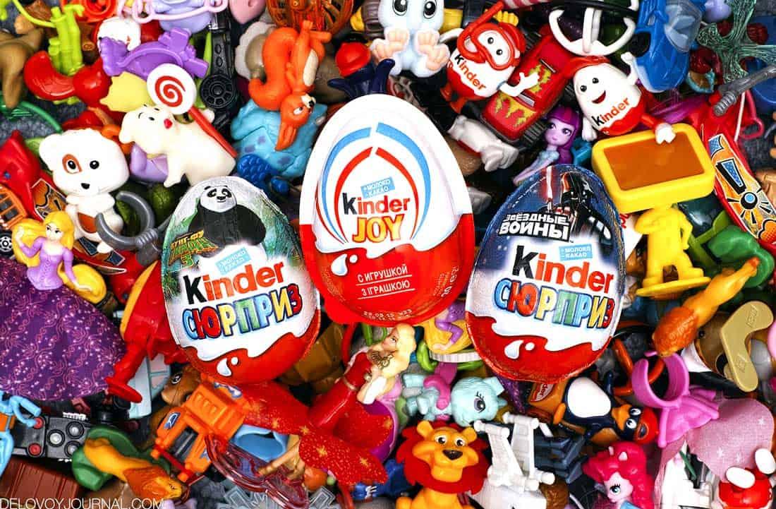Kinder Surprise и Kinder Joy