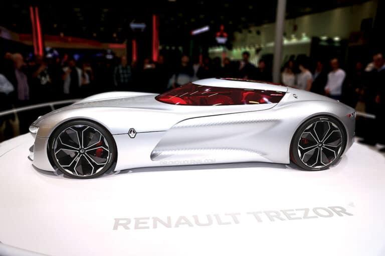Renault Trezor — автомобильный макет будущего