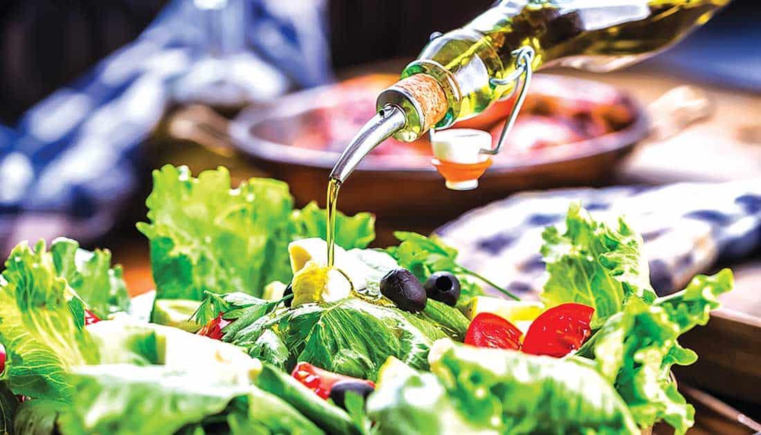 Польза оливкого масла