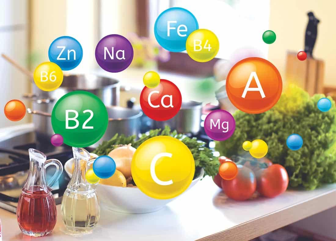 Витамны в продуктах