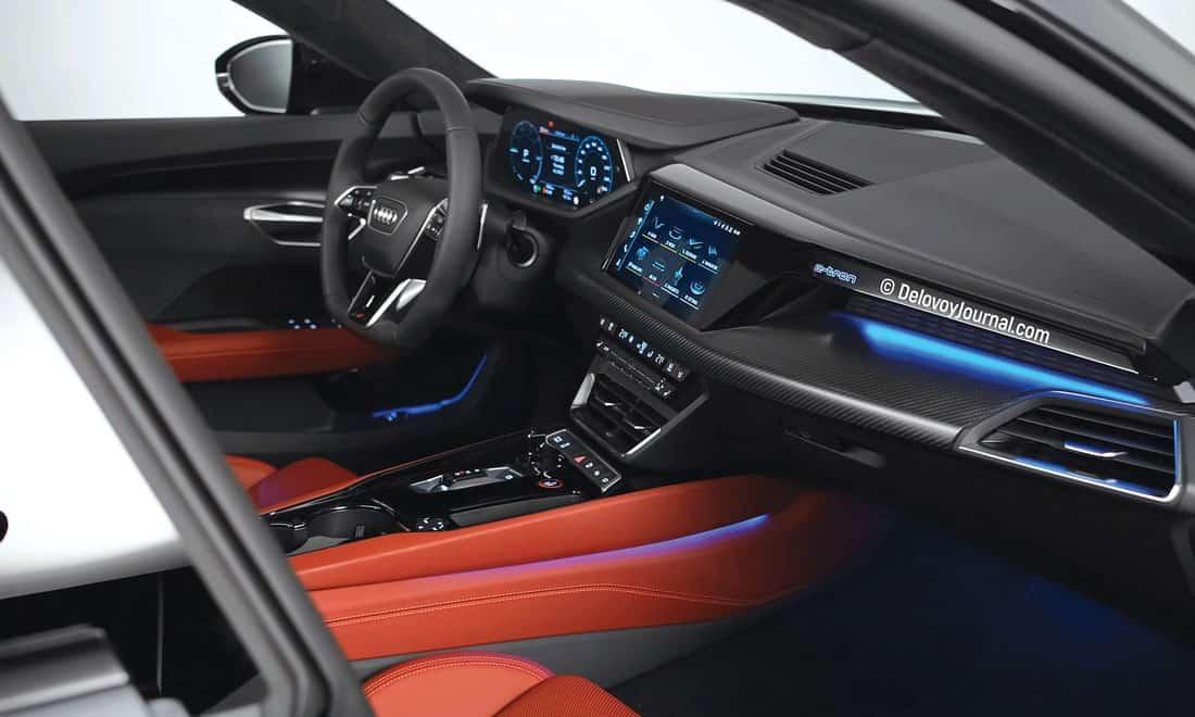 Интерьер Audi E-tron GT